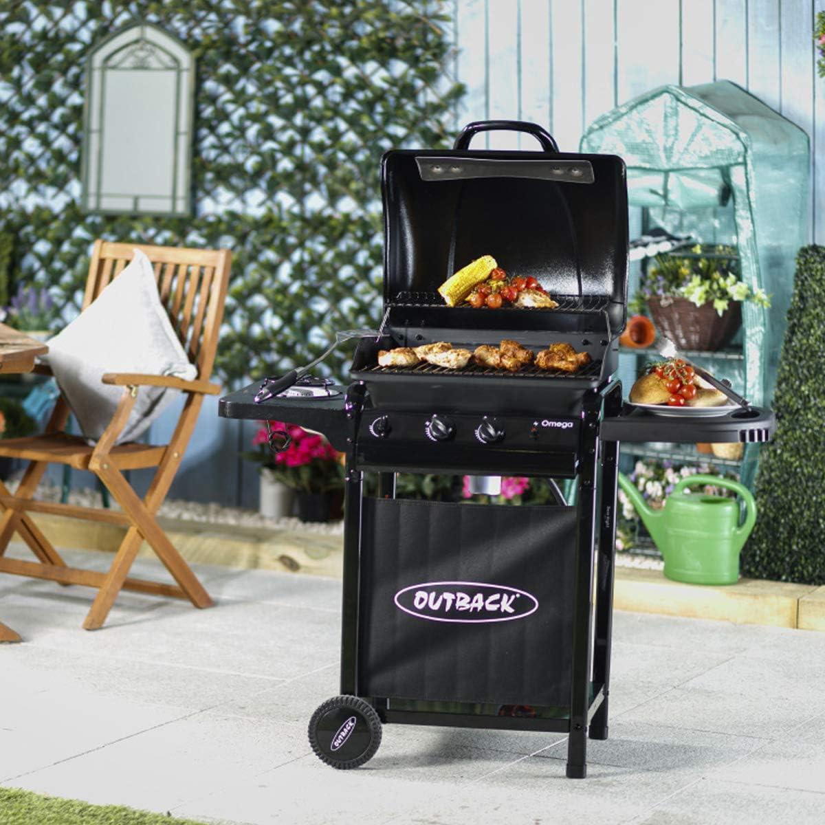 Barbecue à gaz 2 brûleurs Omega 200   1113412   Extérieur