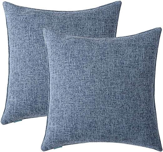 "Various Sweet 17/"" X 17/""  Linen Look Cushion Covers Pillow 43 x 43 cm No cushion"