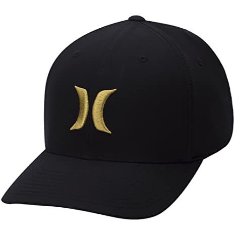Hurley Gorras Dri-Fit 2.0 Black/Yellow Flexfit