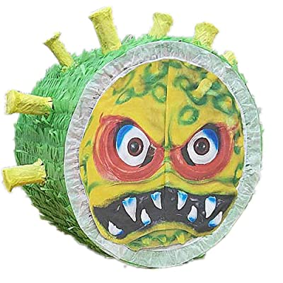 Pinata Ugly Coronavirus Break It Stay Home Together Toy Piñata Birthday Festa Whole Family: Arts, Crafts & Sewing