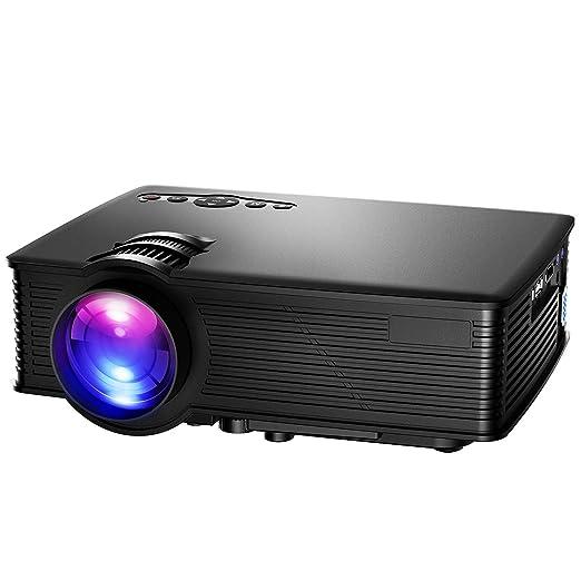 130 opinioni per Proiettore, Mpow Mini Portable HD LCD Proiettore, Multimedia Home Cinema