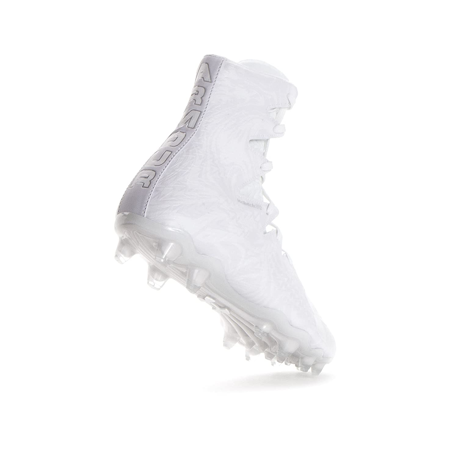 Under Armour Mens Highlight MC Football Cleat White//White 10 M US