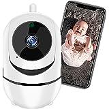 Câmera de Segurança WiFi XFTOPSE Monitoramento 360º 1080P HD Camera IP Sem Fio com Áudio Bidirecional, Detecção de Movimento,