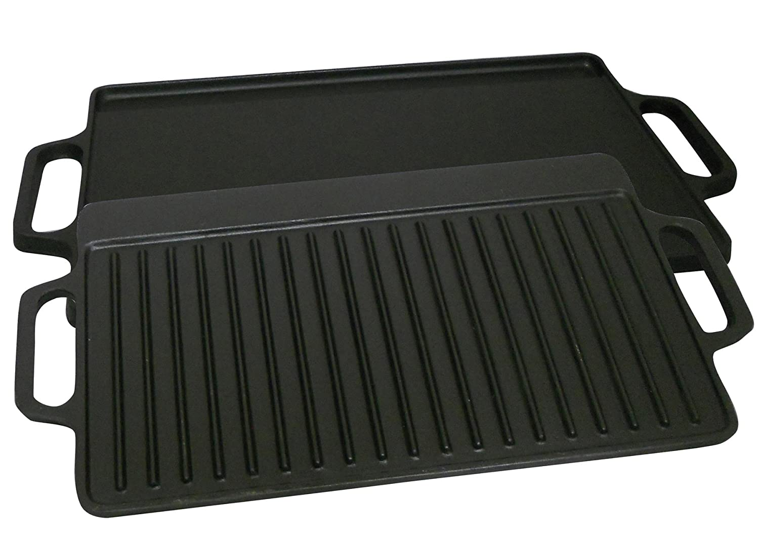 King Kooker CI28GS Pre-seasoned Cast Iron 2 Sided Griddle, 28-Inch (Discontinued by Manufacturer)