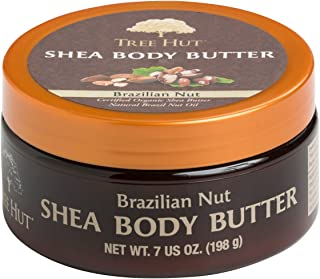 product image for Tree Hut Shea Body Butter, Brazilian Nut, 7-Ounce (Pack of 3)