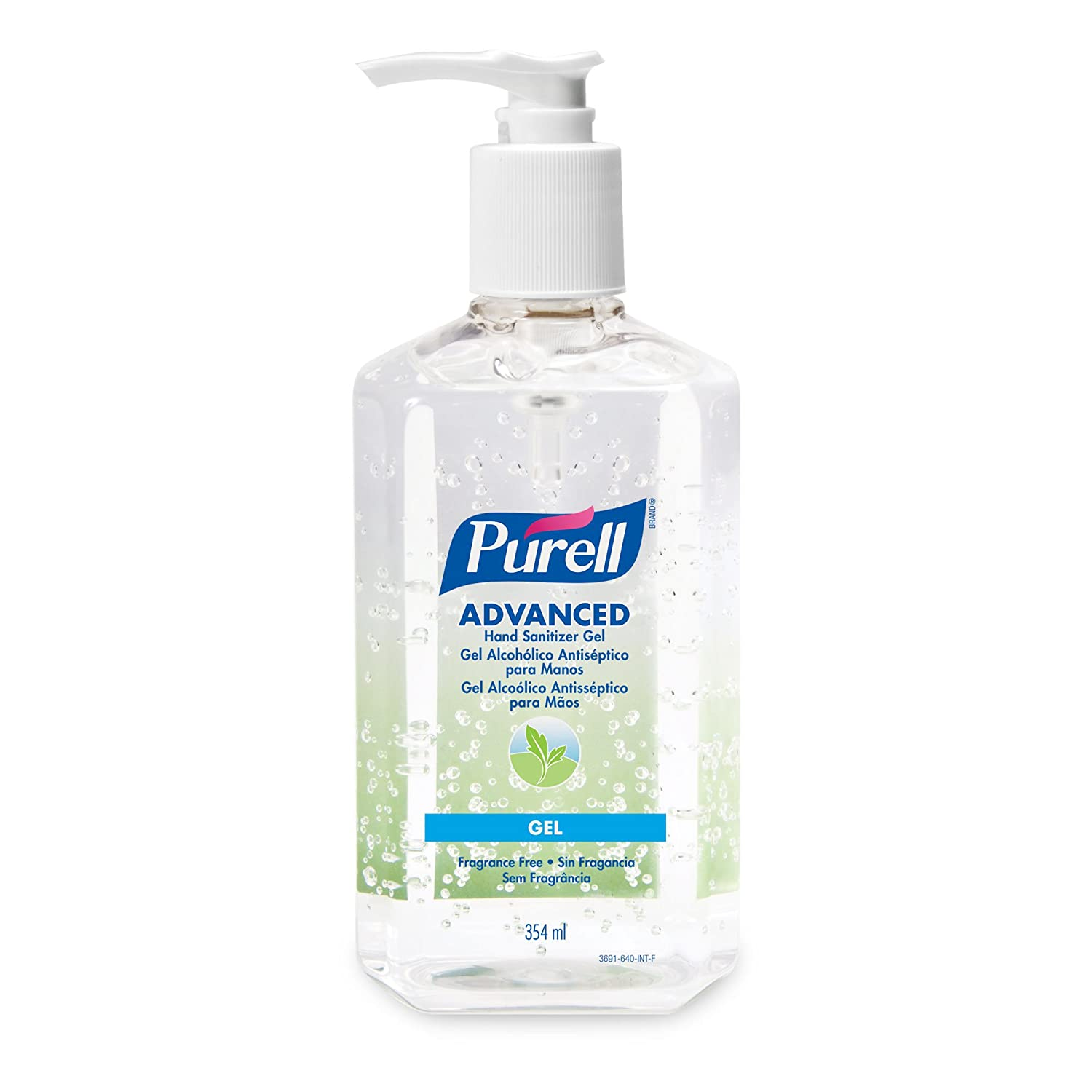 Buy Purell Advanced Hand Sanitizer 354 Ml Table Top Pump Bottle