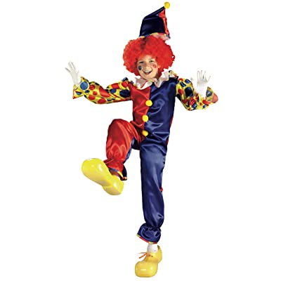 Rubies Bubbles The Clown Child Costume, Medium: Toys & Games