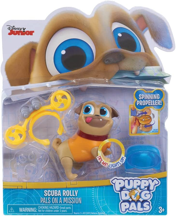JP Puppy Dog Pals Mascotas para Cachorros con luz - Rolly con ...