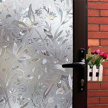 Amazon Mikomer Tulip Decorative Window Filmno Glue Frosted