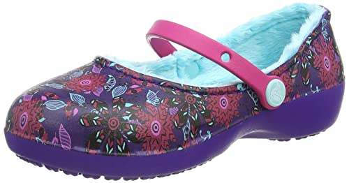 ace72d4671a5 Crocs Girls Karin Graphic Lined Clog - K Mary Jane  Crocs  Amazon.ca ...