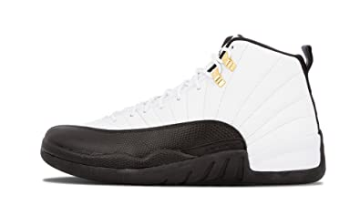 "fb1ef431cdb Nike Mens Air Jordan 12 Retro ""Taxi"" White/Black-Taxi-"