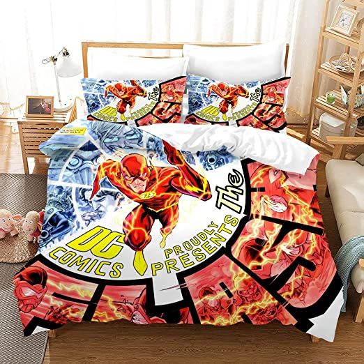 The Flash Design Duvet Cover Bedding Set Of Quilt Cover Pillowcase King Size