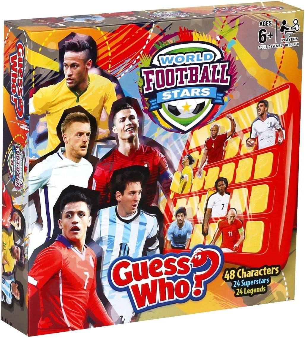 Guess Who 28424- Mundo Estrellas de Fútbol