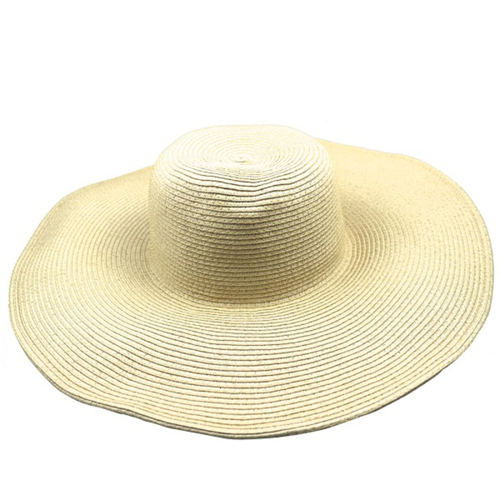 Summer Oversized Travel Adult Straw Unisex Women Hat Men Sun Hats