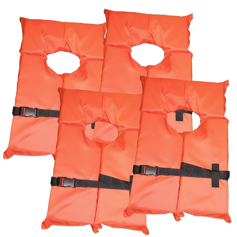 一番の 4パックタイプIIオレンジライフジャケットベスト – – 大人用ユニバーサルBoating PFD by B016ARJN4U by Hardcore水スポーツ B016ARJN4U, アソウマチ:479d520e --- a0267596.xsph.ru