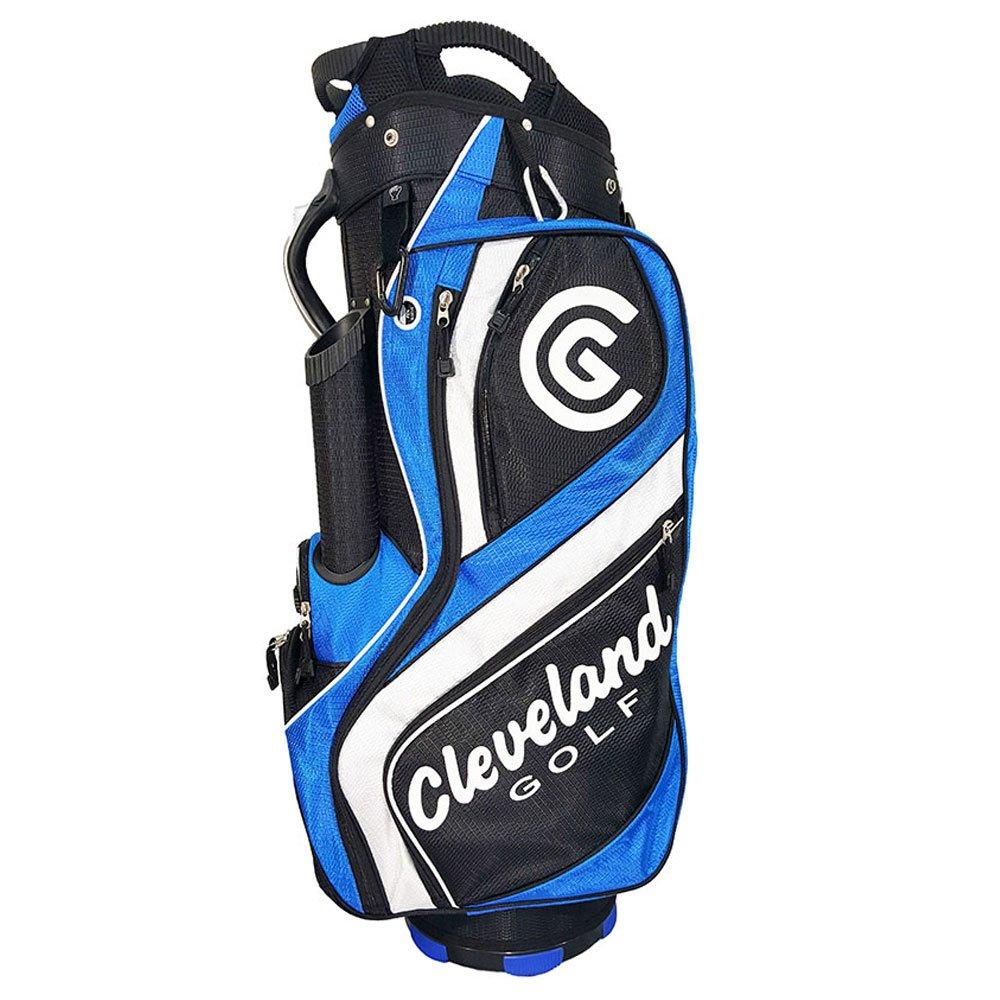 Cleveland Golf Male Cg Cart Bag, Black/Blue/White