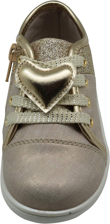 Apakowa Chaussures de Fitness Mixte Enfant Baskets Basses pour Filles