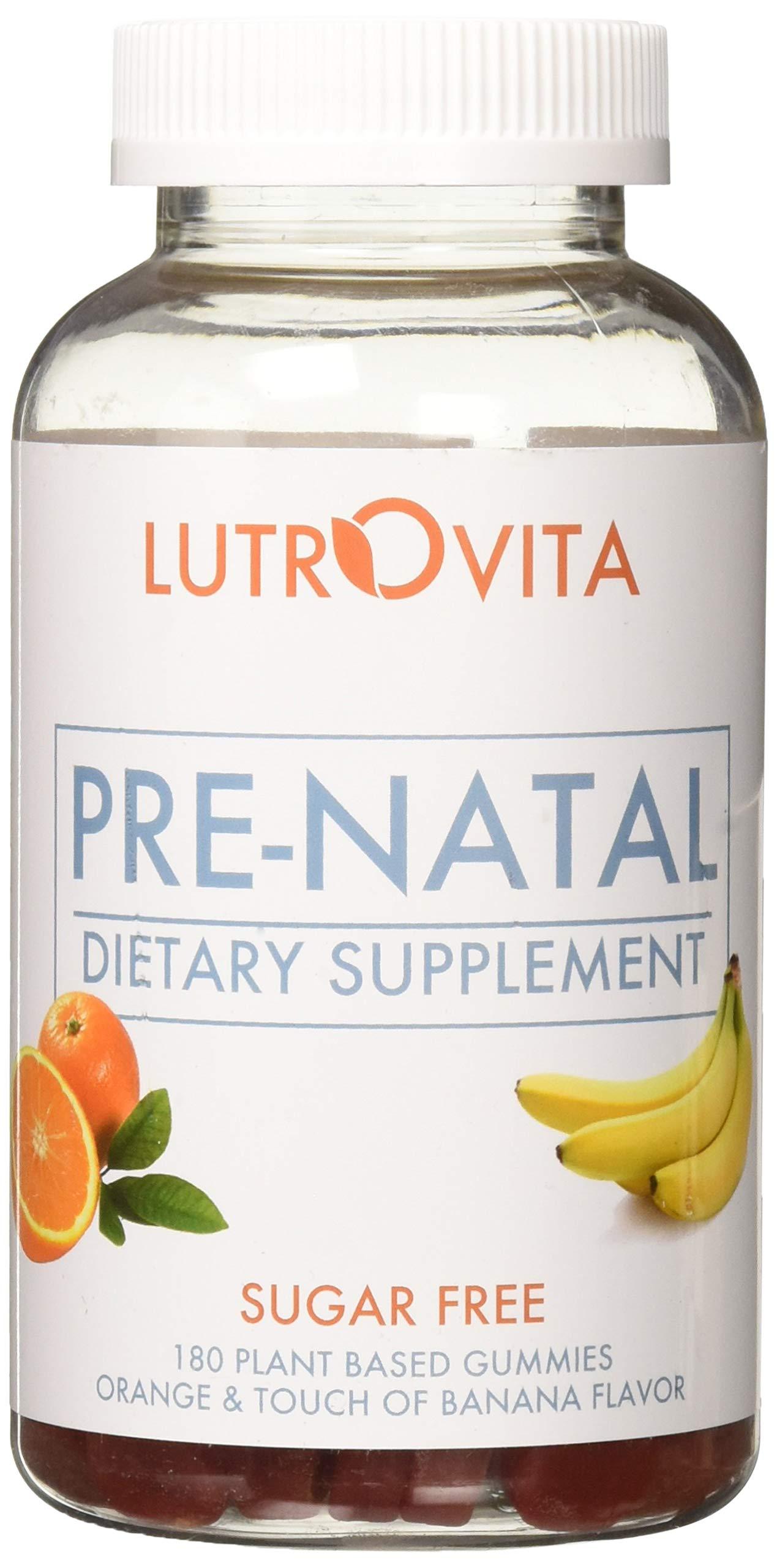 Lutrovita Sugar Free Pre-Natal Orange & Touch of Banana, 180 Count