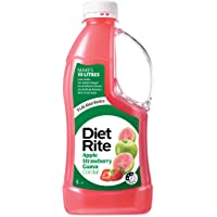 Diet Rite Cordial Drink, Apple Strawberry Guava, 1 l