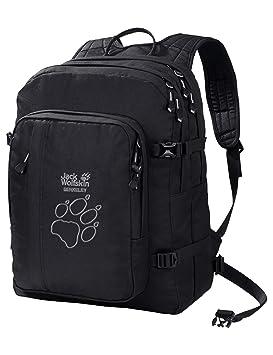 5491904bbaf Jack Wolfskin Unisex's Rucksack Berkeley Black, One size: Amazon.co ...
