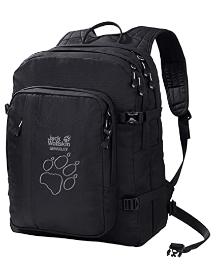 1052e954cc Amazon.com: Jack Wolfskin Berkeley Back to School Pack, Black ...