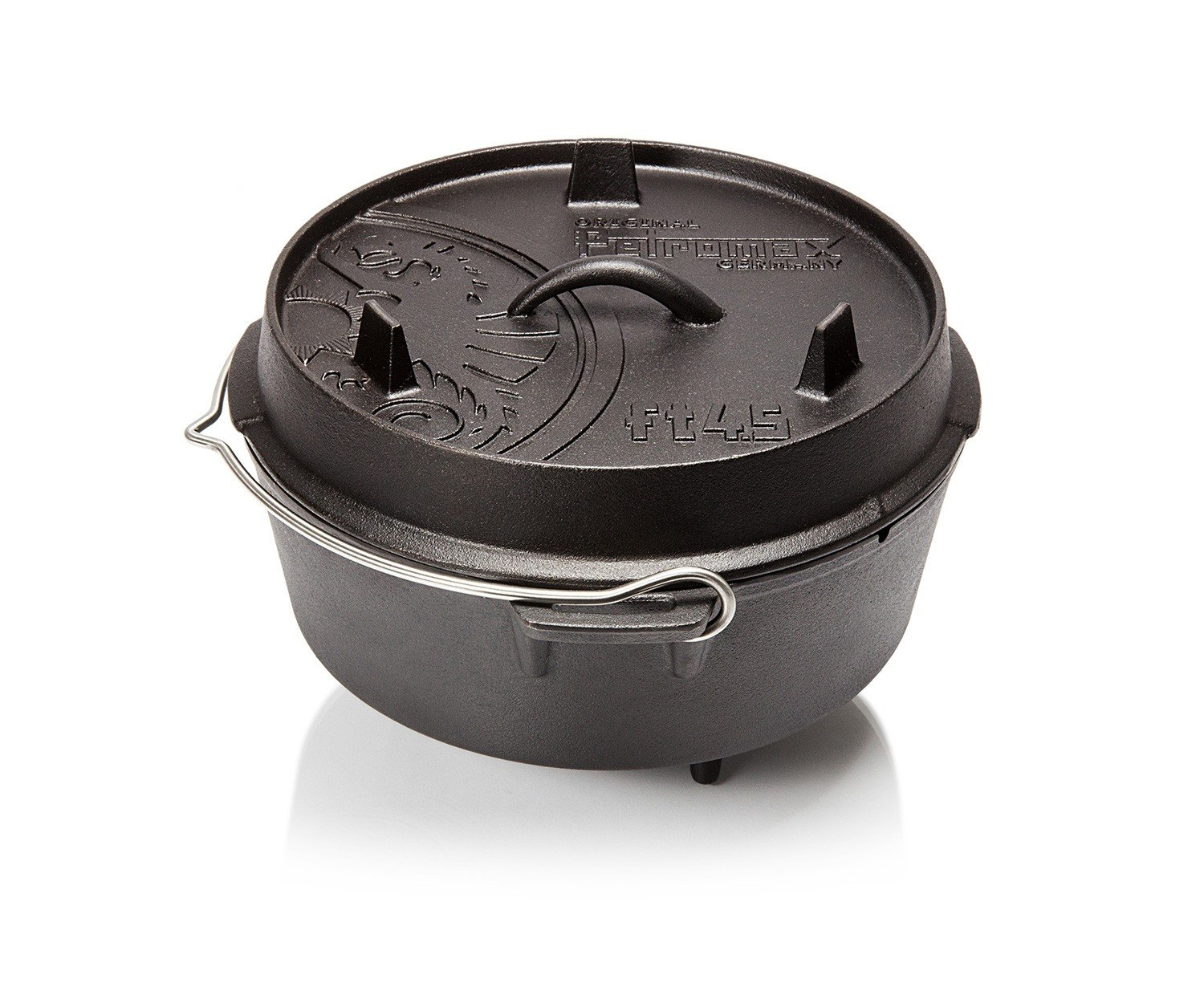 Petromax Cast Iron Dutch Oven - 3.7 Qt