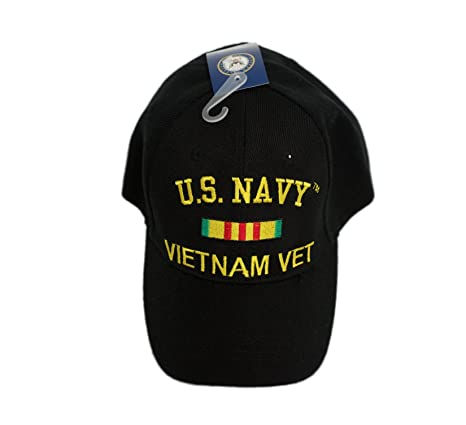 03d1ac79bf1 Image Unavailable. Image not available for. Color  MWS US Navy Vietnam  Veteran Vet Ribbon Cap ...