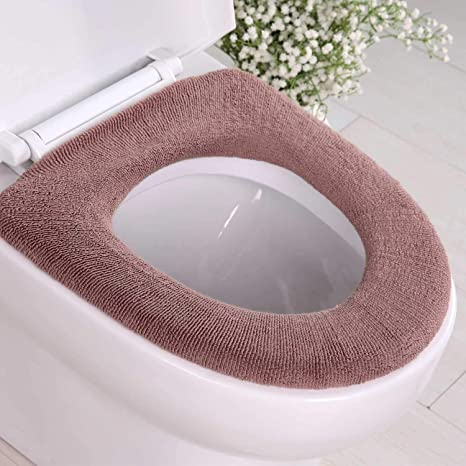 Buy Zizly Toilet Seat Cover Of Soft Thicker Warmer Cloth Cover