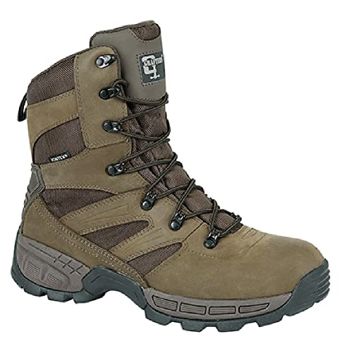 8c41c0c033b Grafters WARRIOR Mens NON-SAFETY Leather Waterproof Work Boots Brown