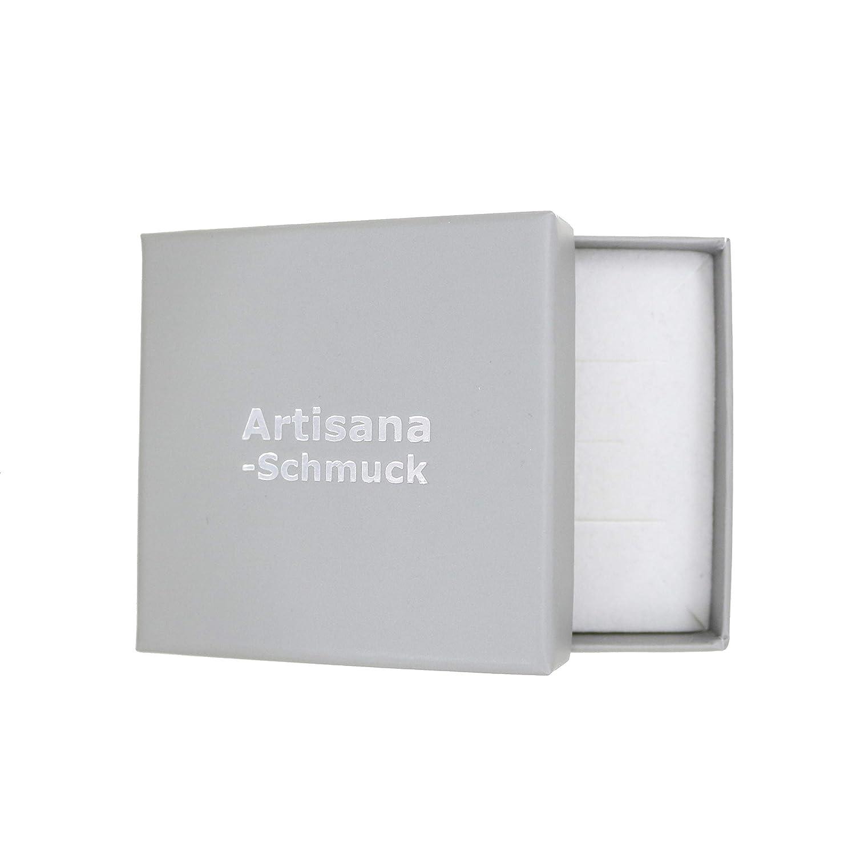 Artisana Pendentif Arbre de Vie avec Ambre Naturelle et Argent 925//000