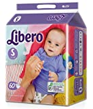Libero Small Size Open Diapers(60 Counts per Pack)