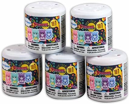 Care Bears Fashems 5-Capsule Bundle Random Mix Series 1 Fash/'ems