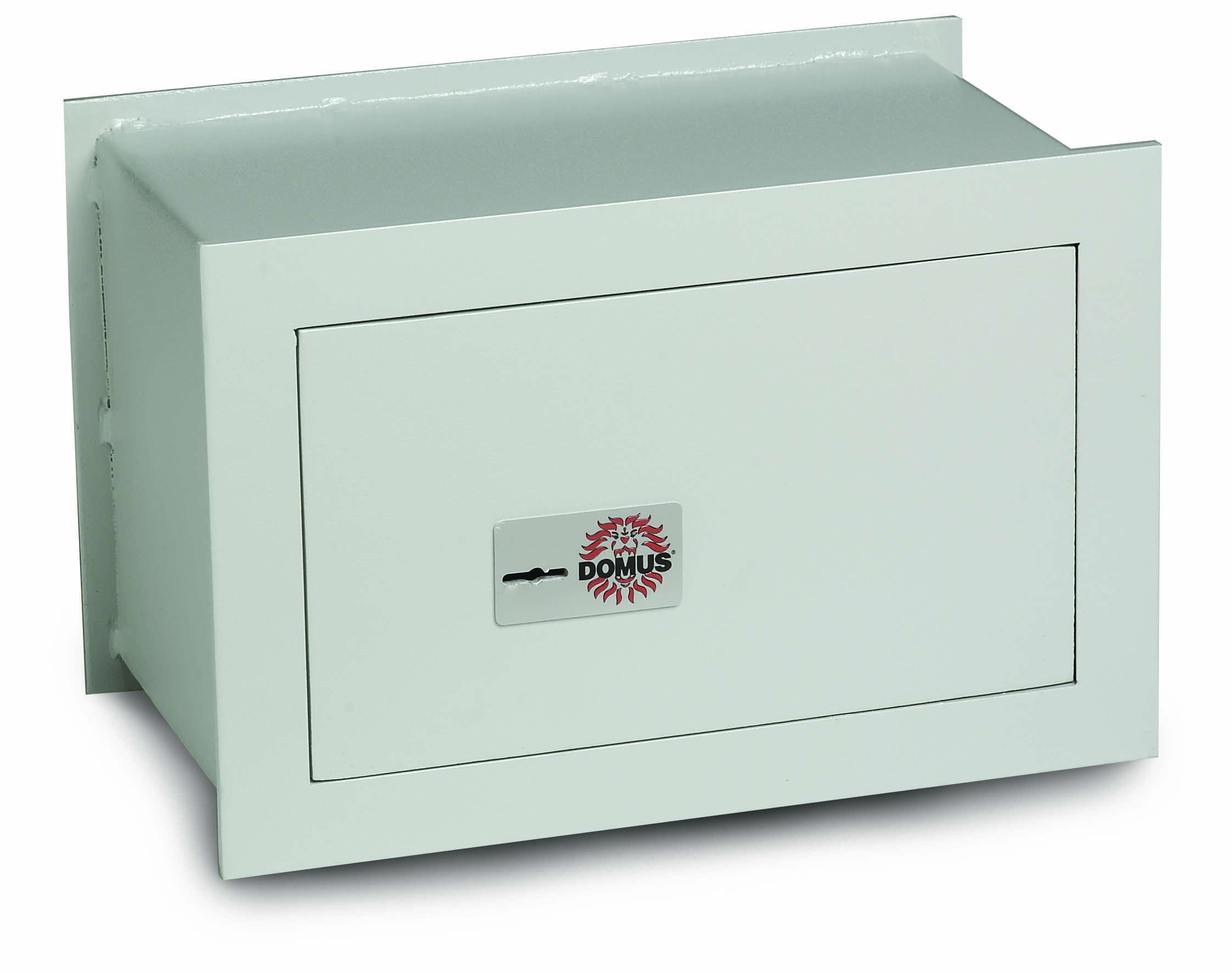 Domus BC/1P Wall Safe with Key Lock, 6 mm