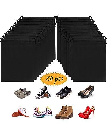 ac158646 OMZGXGOD - 20 Piezas Bolsas de Zapatos, Multifunción a Prueba de A Prueba  de Polvo
