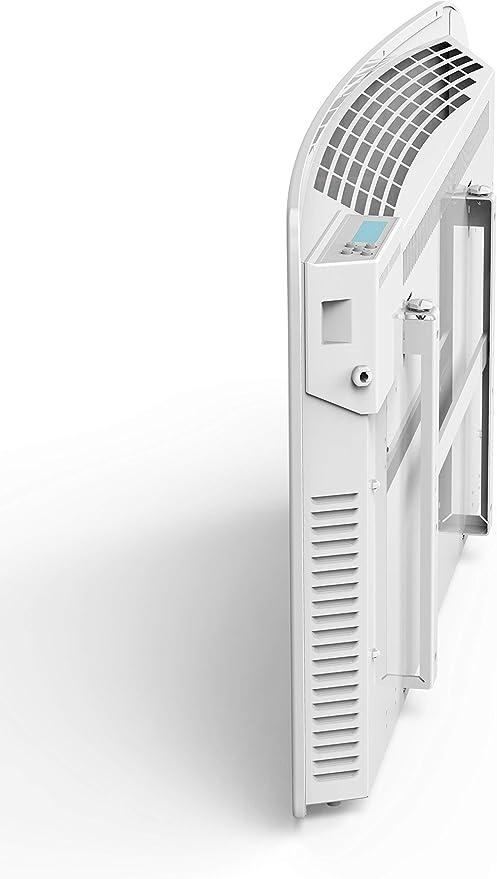 Programmable MAZDA SANCURVINHO14 1400 Watts Blanc Facade Incurv/ée Gamme Curvinho Radiateur /à inertie  s/èche en C/éramique
