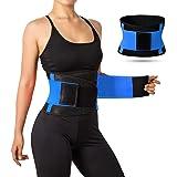 Faja Deportiva, Cintura Entrenador Waist Trainer, Faja Reductora de Cintura Cinturón de Fitness para Mujeres y Hombres, Fajas