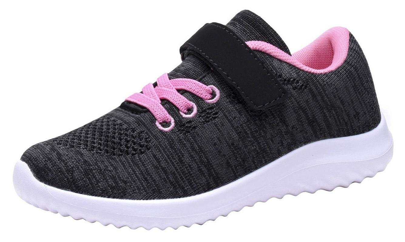Umbale Boys and Girls Flyknit Sneakers Comfort Running Shoes(Toddler/Kids)