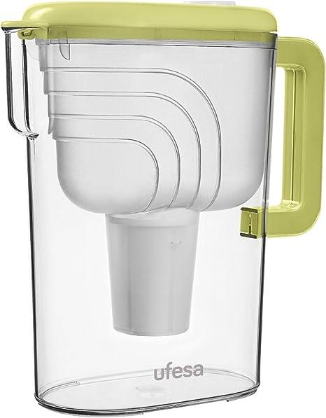 Ufesa JA3000 Jarra de Agua filtrante, Verde, Centimeters: Amazon.es: Hogar