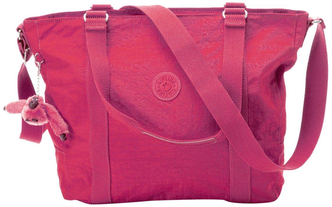 Kipling Adara Tote, Vibrant Pink, One Size