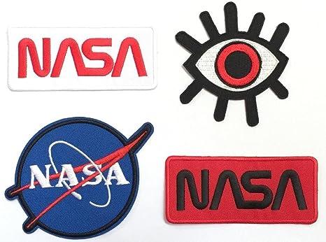 Super Save Pack Set parche de hierro en parches # 5, NASA parche ...