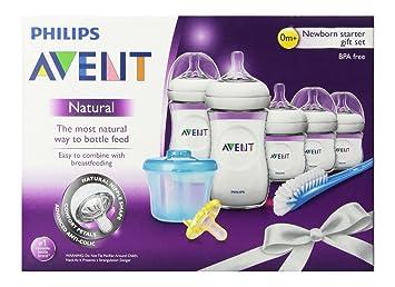 Avent BPA Free Natural Infant Starter Gift Set