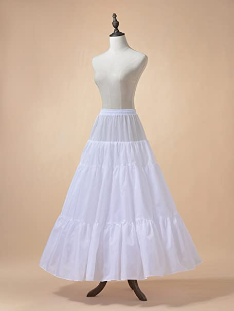 1950s Fashion History: Women's Clothing Remedios Floor Length A Line Bridal Petticoat Underskirt Crinoline Half Slip $18.99 AT vintagedancer.com