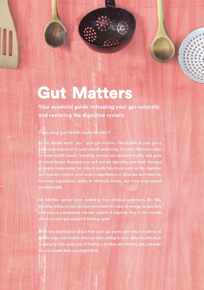 Amazon.com: Gut Matters Book by Food Matters - Your ...