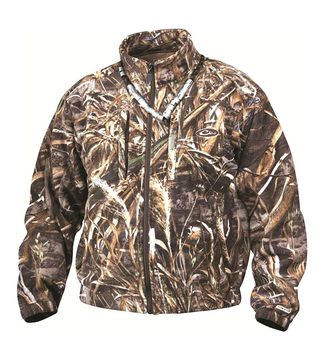 a698aee581e28 Amazon.com: Drake MST Layering Waterproof Fleece Full Zip Jacket Max 5 Camo  DW215: Sports & Outdoors