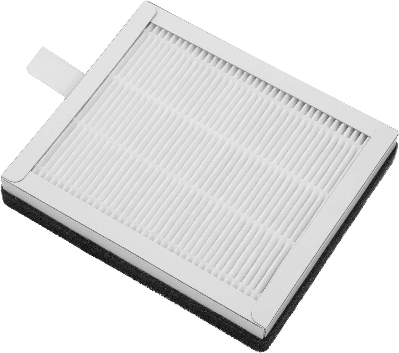 vhbw Filtro combinado 2 en 1 para purificador de aire Soehnle Airfresh Wash 500, repuesto para Soehnle 68105 filtro de repuesto filtro de aire