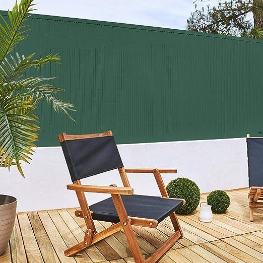 Cañizo PVC D/C 2.0x5 Verde: Amazon.es: Jardín