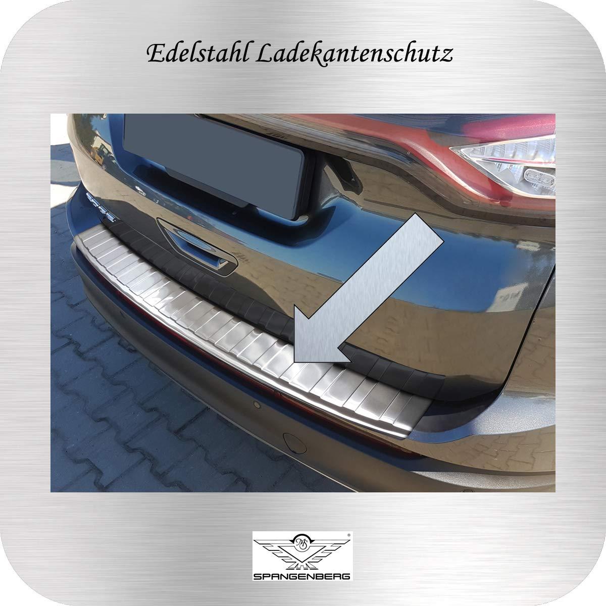 3235125 Generation vor Facelift 06.2016-07.2018 Art Spangenberg Edelstahl Ladekantenschutz f/ür Ford Edge II SUV 2