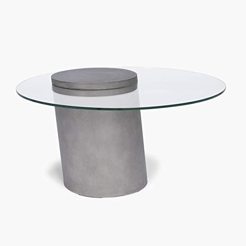 Home Styles Illusion Glass Top Coffee Table