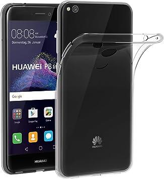 ivoler Funda Carcasa Gel Transparente para Huawei P8 Lite 2017 ...
