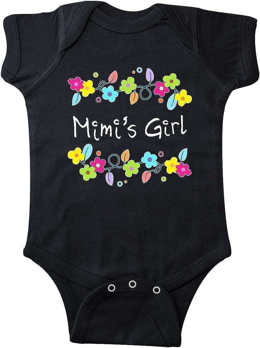 inktastic Little Sister Bright Flowers Toddler T-Shirt